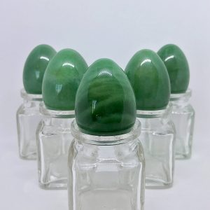 5 Medium Green Aventurine Yoni Eggs