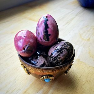 70% OFF Med. Rhodonite Yoni Eggs