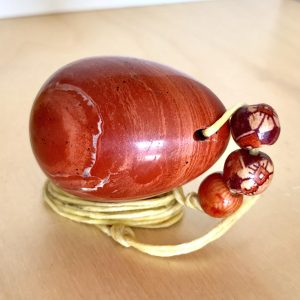 75% OFF Med. Red Jasper Yoni Egg